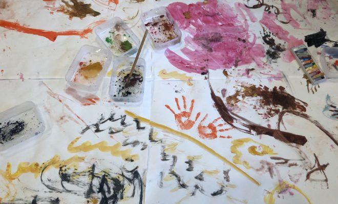 親子アート教室